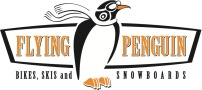 Flying Penguin Logo Mankato, Bike shop